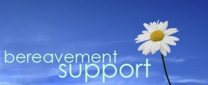 bereavement support sign
